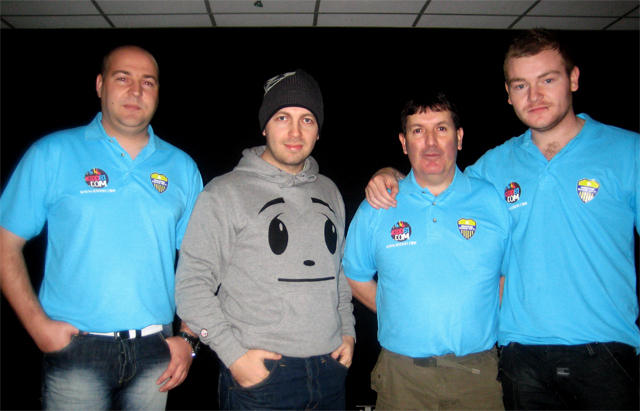 Club Secretary, Mr P, Team Manager and Club Captain in kidd81.com polo shirts